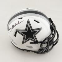 Roger Staubach Signed Cowboys Lunar Eclipse Alternate Speed Mini Helmet (Beckett Hologram) at PristineAuction.com