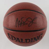 Magic Johnson Signed NBA Basketball (PSA COA) at PristineAuction.com