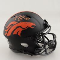 Champ Bailey Signed Broncos Eclipse Alternate Speed Mini Helmet (Beckett Hologram) (See Description) at PristineAuction.com