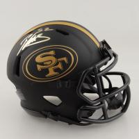 Patrick Willis Signed 49ers Eclipse Alternate Speed Mini Helmet (Beckett COA) at PristineAuction.com