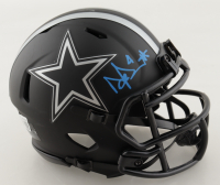 Dak Prescott Signed Cowboys Eclipse Alternate Speed Mini Helmet (Beckett Hologram) at PristineAuction.com