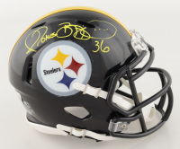 Jerome Bettis Signed Steelers Speed Mini Helmet (Beckett Hologram) at PristineAuction.com