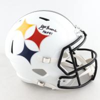 "Joe Greene Signed Steelers Full-Size AMP Alternate Speed Helmet Inscribed ""HOF 87"" (Beckett COA) at PristineAuction.com"