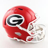 Nick Chubb Signed Georgia Bulldogs Full-Size Speed Helmet (Radtke COA) (See Description) at PristineAuction.com