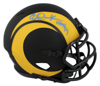 "Eric Dickerson Signed Rams Eclipse Alternate Speed Mini Helmet Inscribed ""HOF 99"" (Beckett COA) at PristineAuction.com"
