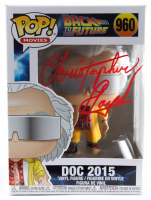 "Christopher Lloyd Signed ""Back To The Future"" #960 Doc 2015 Funko Pop! Vinyl Figure (Beckett Hologram) at PristineAuction.com"