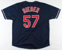 Shane Bieber Signed Jersey (JSA COA) at PristineAuction.com