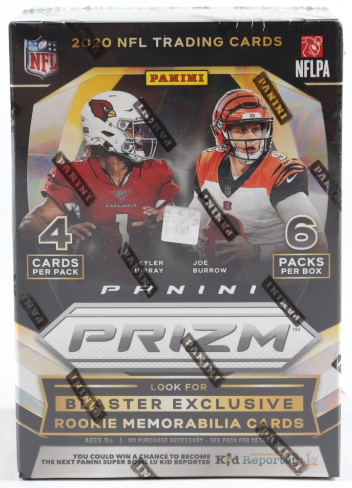 2020 Panini Prizm Football Blaster Box with (6) Packs at PristineAuction.com