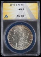 1896 Morgan Silver Dollar (ANACS AU58) at PristineAuction.com