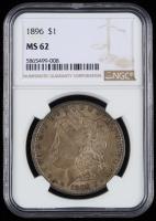 1896 Morgan Silver Dollar (NGC MS62) (Toned) at PristineAuction.com