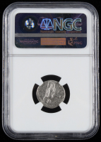 Antoninus Pius A.D. 138-161 Roman Empire AR Denarius Ancient Silver Coin - Golden Age Hoard (NGC Ch VF) at PristineAuction.com