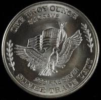 1981 U.S. Assay Office San Francisco 1 oz. Fine Silver Bullion Round at PristineAuction.com