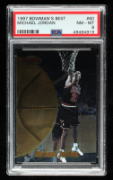 Michael Jordan 1997-98 Bowman's Best #60 (PSA 8) at PristineAuction.com