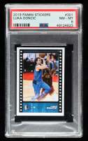 Luka Doncic 2019-20 Panini Stickers #301 (PSA 8) at PristineAuction.com