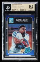 Ezekiel Elliott 2016 Donruss Optic Blue #168 RR (BGS 9.5) at PristineAuction.com