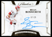 Brian Bosworth 2020 Panini Flawless Collegiate Team Slogan Signatures #5 at PristineAuction.com