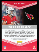 Kyler Murray 2019 Panini Plates and Patches Trio Patches Blue #1 at PristineAuction.com