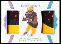 Brandon Aiyuk 2020 Panini Flawless Collegiate Rookie Dual Patches Silver #11 at PristineAuction.com