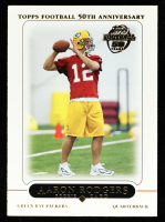 Aaron Rodgers 2005 Topps #431 RC at PristineAuction.com