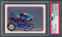 Richard Petty Signed 1988 Maxx Charlotte #60 Richard Petty's Car (PSA Encapsulated) at PristineAuction.com
