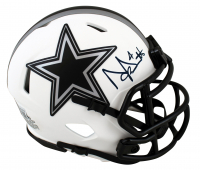 Dak Prescott Signed Cowboys Lunar Eclipse Alternate Speed Mini Helmet (Beckett Hologram) at PristineAuction.com