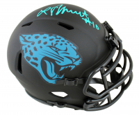 Laviska Shenault Signed Jaguars Eclipse Alternate Speed Mini Helmet (Beckett Hologram) at PristineAuction.com