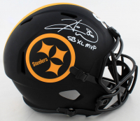 "Hines Ward Signed Steelers Full-Size Eclipse Alternate Speed Helmet Inscribed ""SB XL MVP"" (Beckett Hologram) at PristineAuction.com"