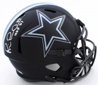 "Michael ""Playmaker"" Irvin Signed Cowboys Full-Size Eclipse Alternate Speed Helmet Inscribed ""HOF 07"" (Beckett Hologram) at PristineAuction.com"