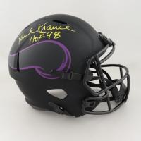 "Paul Krause Signed Vikings Full-Size Eclipse Alternate Speed Helmet Inscribed ""HOF 98"" (Schwartz COA) at PristineAuction.com"