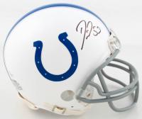 Darius Leonard Signed Colts Mini Helmet (Beckett COA) at PristineAuction.com