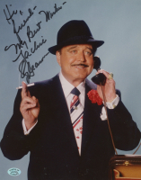"""Jackie Gleason Signed 8x10 Photo Inscribed """"Hi Friend - My Best Wishes"""" (Stacks of Plaques COA) at PristineAuction.com"""