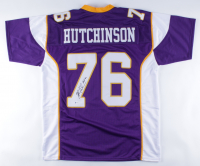 "Steve Hutchinson Signed Jersey Inscribed ""HOF '20"" (Beckett COA) at PristineAuction.com"