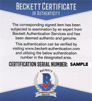 """Norm Ullman Signed Jersey Inscribed """"HOF -1982"""" (Beckett COA) at PristineAuction.com"""