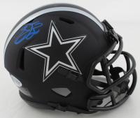 Emmitt Smith Signed Cowboys Eclipse Alternate Speed Mini Helmet (Beckett COA) (See Description) at PristineAuction.com