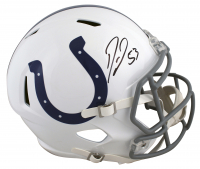 Darius Leonard Signed Colts Full-Size Speed Helmet (Beckett COA) at PristineAuction.com