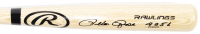 "Pete Rose Signed Rawlings Pro Baseball Bat Inscribed ""4256"" (JSA COA & Fiterman Hologram) at PristineAuction.com"