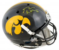 George Kittle Signed Iowa Hawkeyes Full-Size Helmet (Beckett COA) at PristineAuction.com