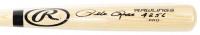 "Pete Rose Signed Rawlings Pro Baseball Bat Inscribed ""4256"" (JSA COA & Fiterman Hologram) (See Description) at PristineAuction.com"