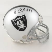 Amari Cooper Signed Raiders Mini Helmet (JSA COA) at PristineAuction.com