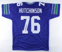 """Steve Hutchinson Signed Jersey Inscribed """"HOF '20"""" (Beckett COA) at PristineAuction.com"""