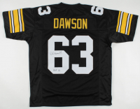 "Dermontti Dawson Signed Jersey Inscribed ""HOF 12"" (JSA COA) at PristineAuction.com"