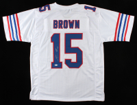 John Brown Signed Jersey (Beckett COA) at PristineAuction.com