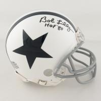 "Bob Lilly Signed Cowboys Mini-Helmet Inscribed ""HOF '80"" (JSA COA) at PristineAuction.com"