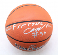 """Cole Anthony Signed NBA Basketball Inscribed """"2020 First Round Pick"""" (Beckett COA) (See Description) at PristineAuction.com"""