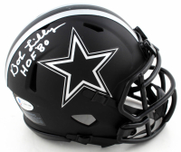 "Bob Lilly Signed Cowboys Eclipse Alternate Speed Mini Helmet Inscribed ""HOF '80"" (Beckett COA) at PristineAuction.com"