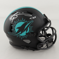 """Ricky Williams Signed Dolphins Eclipse Alternate Speed Mini Helmet Inscribed """"4:20"""" (JSA COA) at PristineAuction.com"""