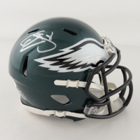 Donovan McNabb Signed Eagles Speed Mini Helmet (JSA COA) at PristineAuction.com