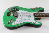 "Kevin Eastman & Vanilla Ice Signed ""Teenage Mutant Ninja Turtles"" 39"" Electric Guitar (PSA Hologram) at PristineAuction.com"