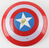 "Stan Lee Signed ""Captain America"" Marvel Electronic Toy Shield (PSA COA) (See Description) at PristineAuction.com"