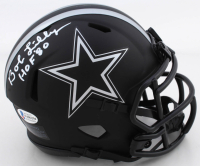 "Bob Lilly Signed Cowboys Eclipse Alternate Speed Mini Helmet Inscribed ""HOF '80"" (Beckett COA) at PristineAuction.com"